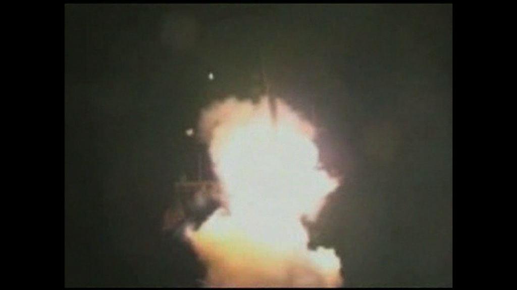 美軍向敘利亞發射逾50枚巡航導彈
