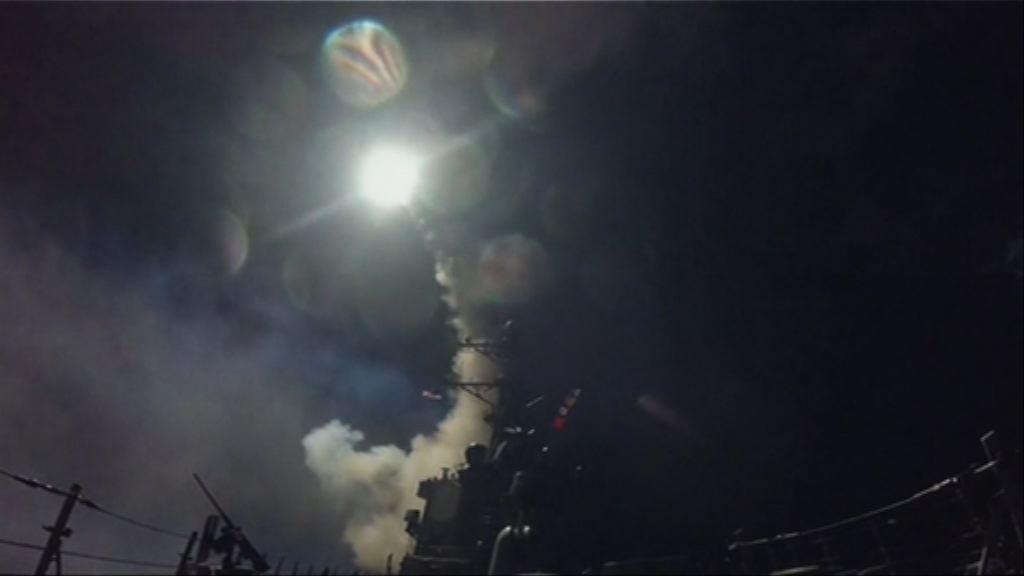 美軍向敘利亞發巡航導彈 傳有人喪生
