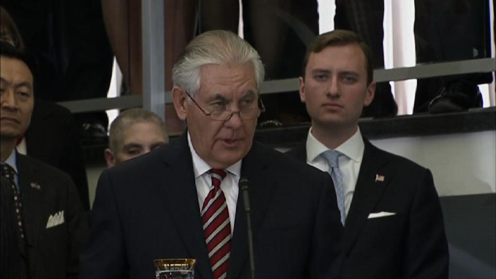 美媒指國務卿蒂勒森將遭撤換