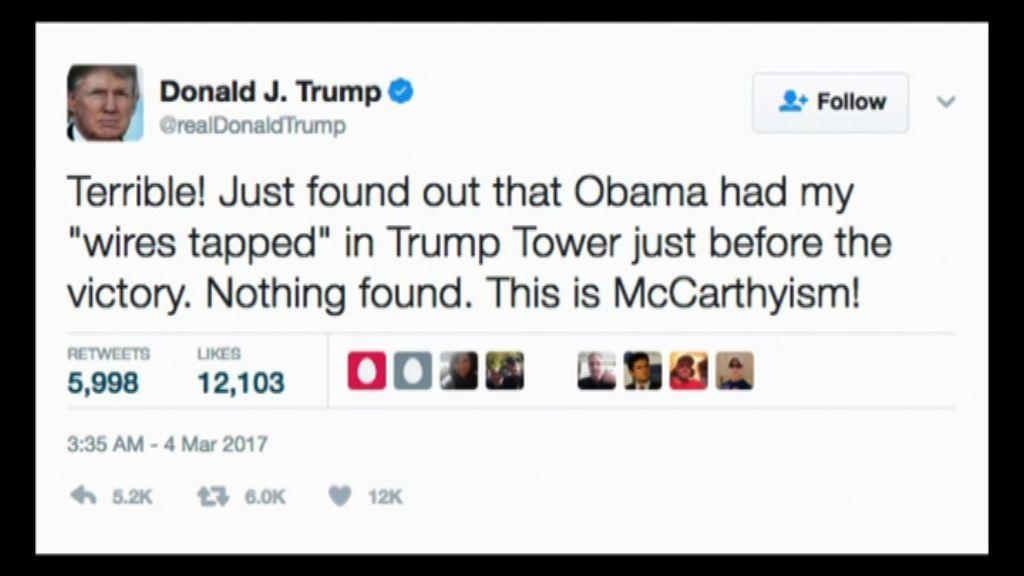 奧巴馬發言人否認竊聽特朗普