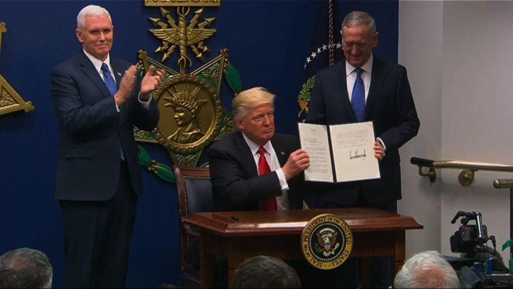 特朗普指新入境禁令純為政治正確