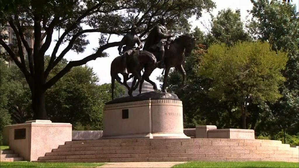 特朗普不認同拆南方聯軍司令雕像