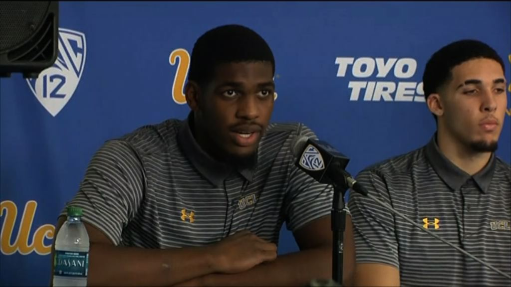 美加州大學籃球員獲釋 感謝特朗普協助