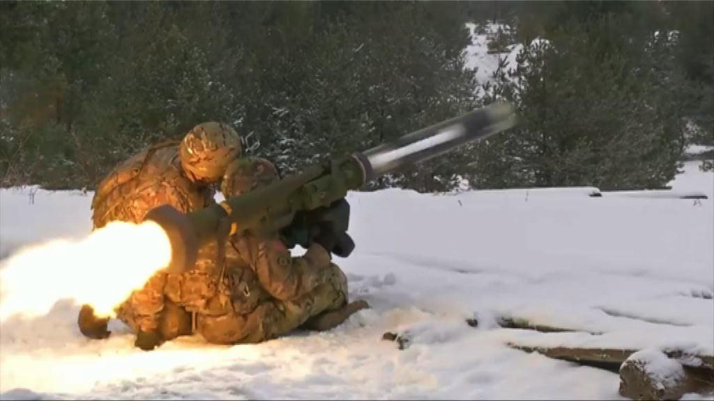 華府批准向烏克蘭出售殺傷力武器
