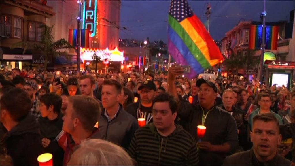 美國多處有活動悼念槍擊案死難者