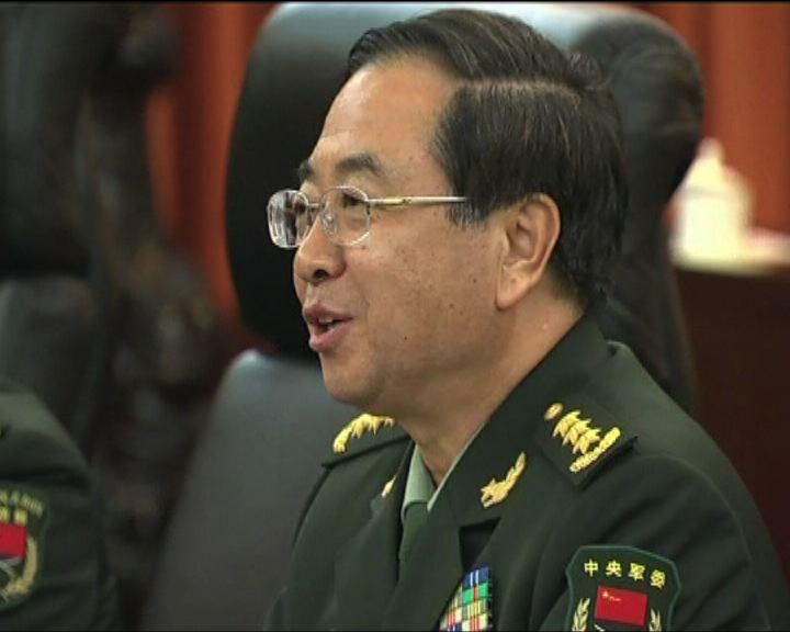 解放軍總參謀長房峰輝下周訪美