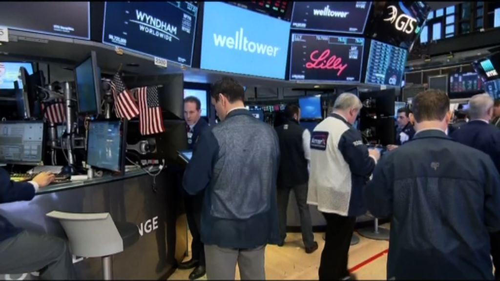 美股尾市沽壓湧現 道指收市跌380點