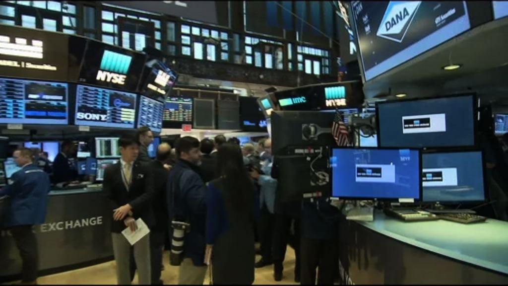 科技股反彈力度減弱 美股尾市跌幅擴大