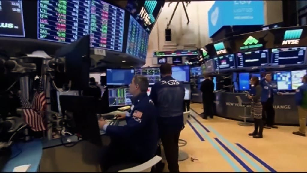 工業股下挫 道指收市跌157點