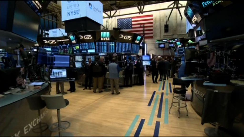 科技和金融股迼好帶動美股上升