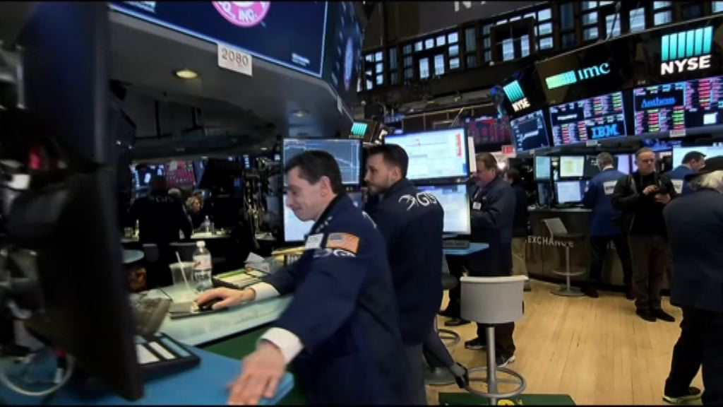 科技股反彈 美股3大指數升逾1%