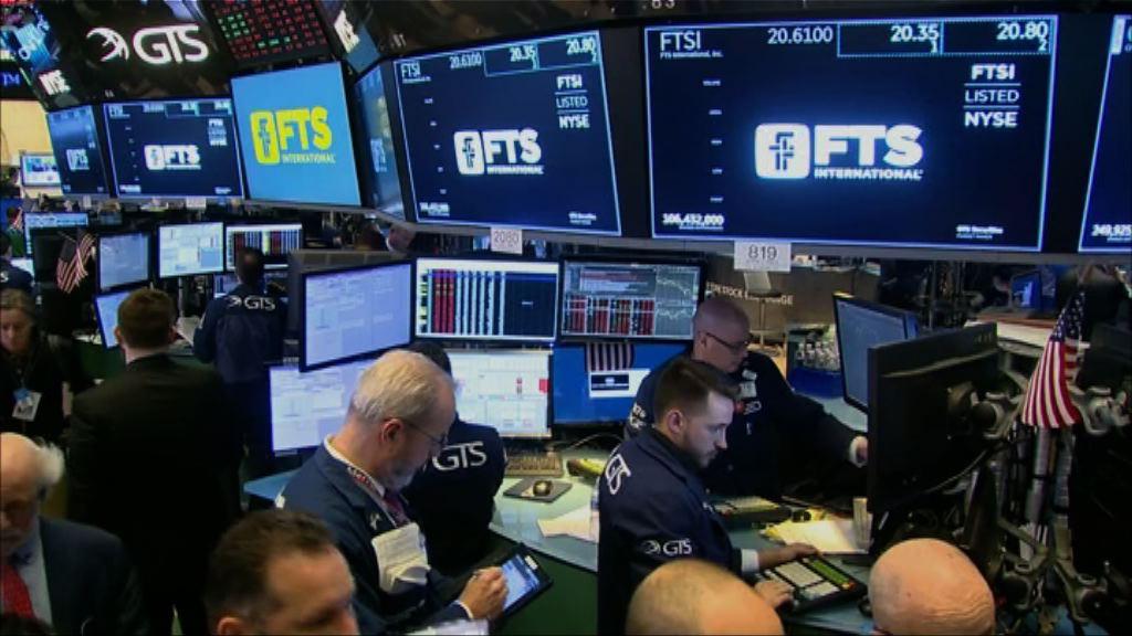 美股臨收市前沽壓加劇 道指跌逾1000點