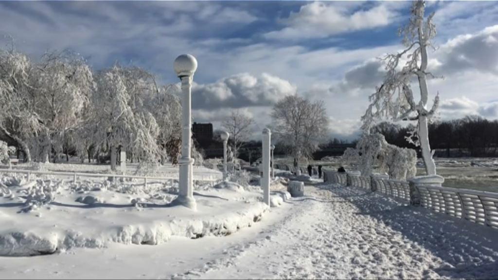 美國廣泛地區受嚴寒天氣侵襲至少12死