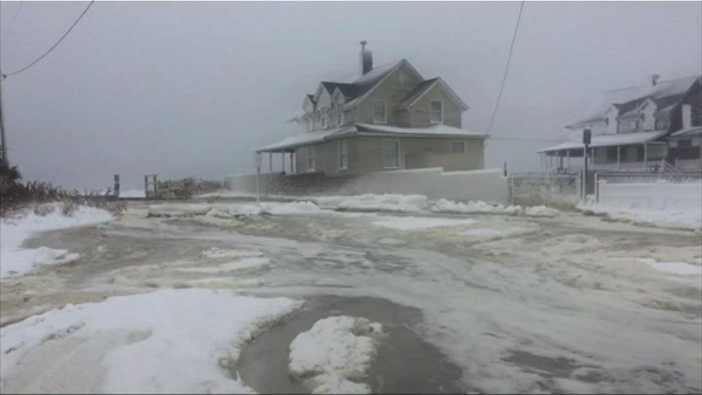 料美國東岸周末仍受嚴寒天氣侵襲