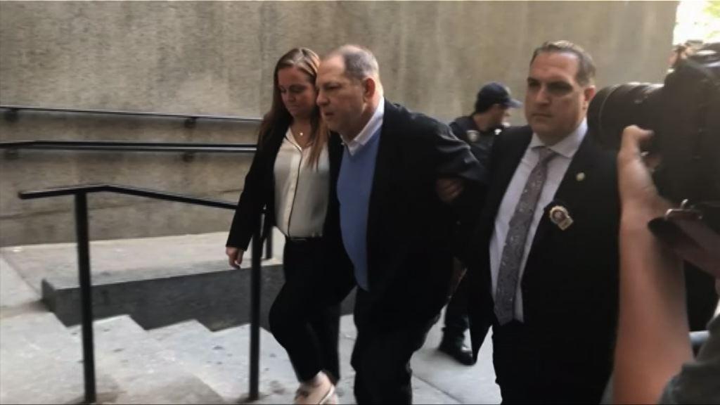 哈維溫斯坦被起訴強姦及性侵 獲准保釋