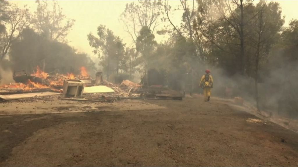 加州北部山火釀最少5死