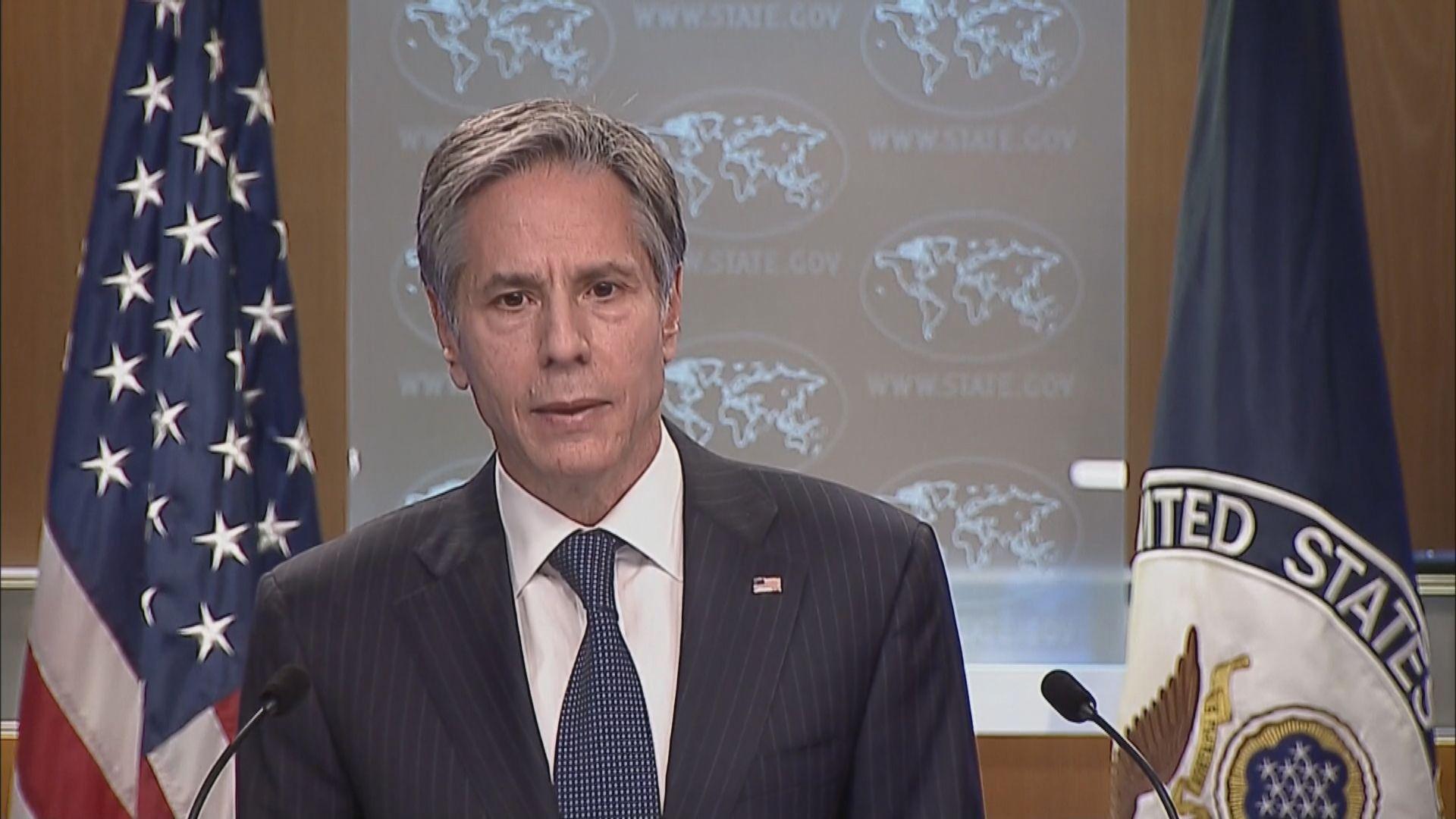 美國重申支持加拿大尋求遭華扣押兩名公民獲釋