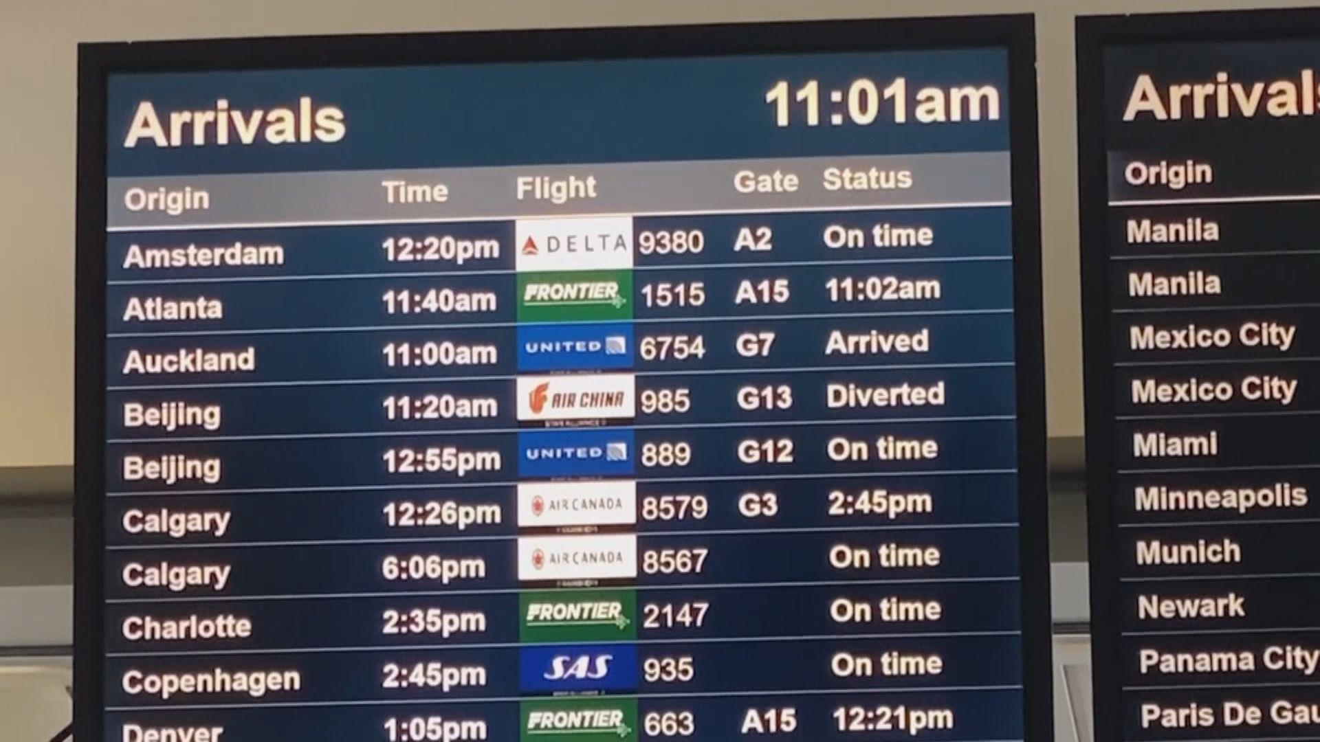 民航局預料每周增加約五十班國際航班
