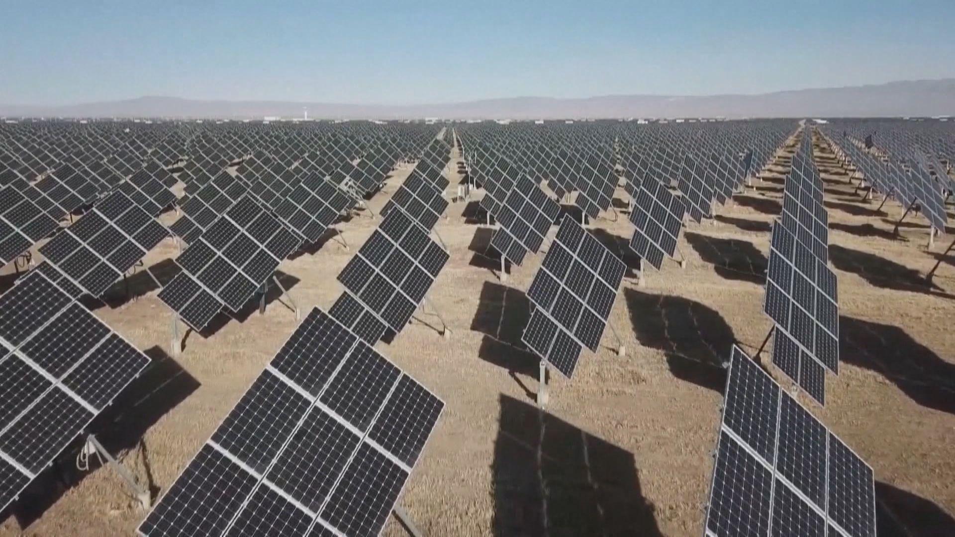 布林肯:美國在再生能源市場落後中國