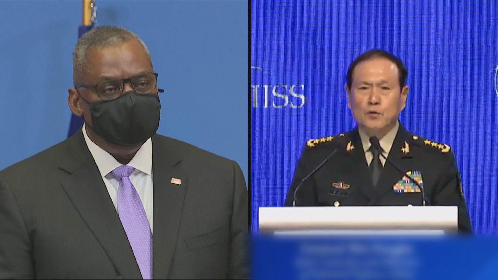 據報美國防部長曾三次要求跟中央軍委副主席對話被拒