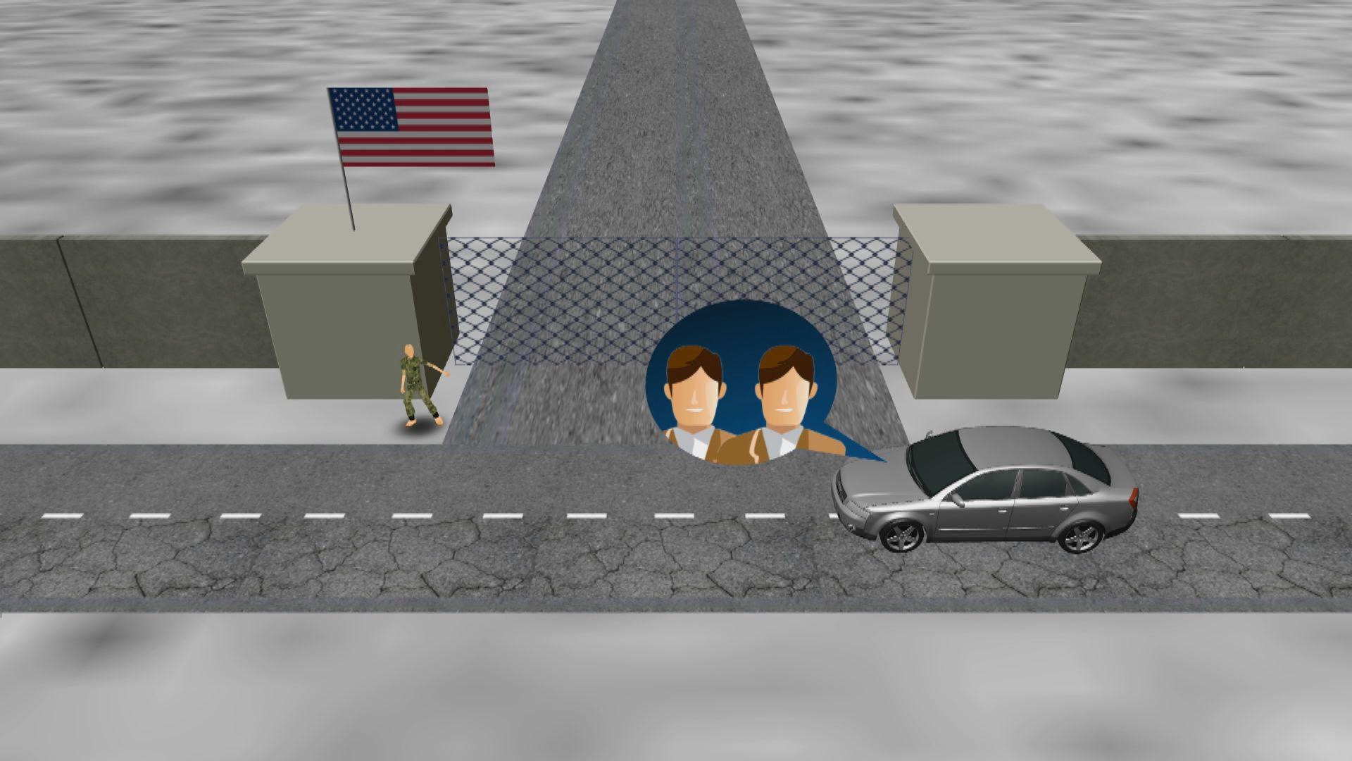 兩中國駐美外交人員圖闖美軍被秘密驅逐出境