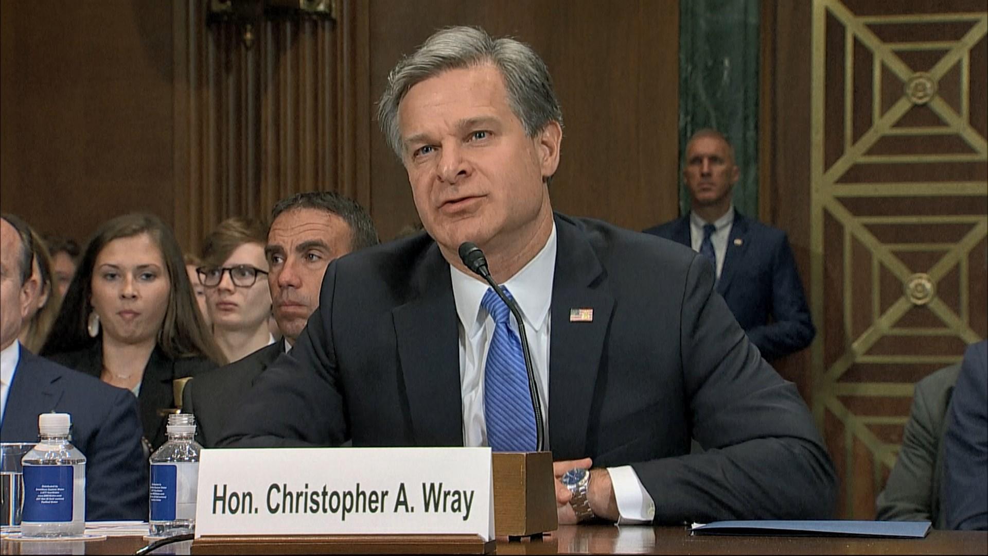 聯邦調查局長指中國是美國最大威脅