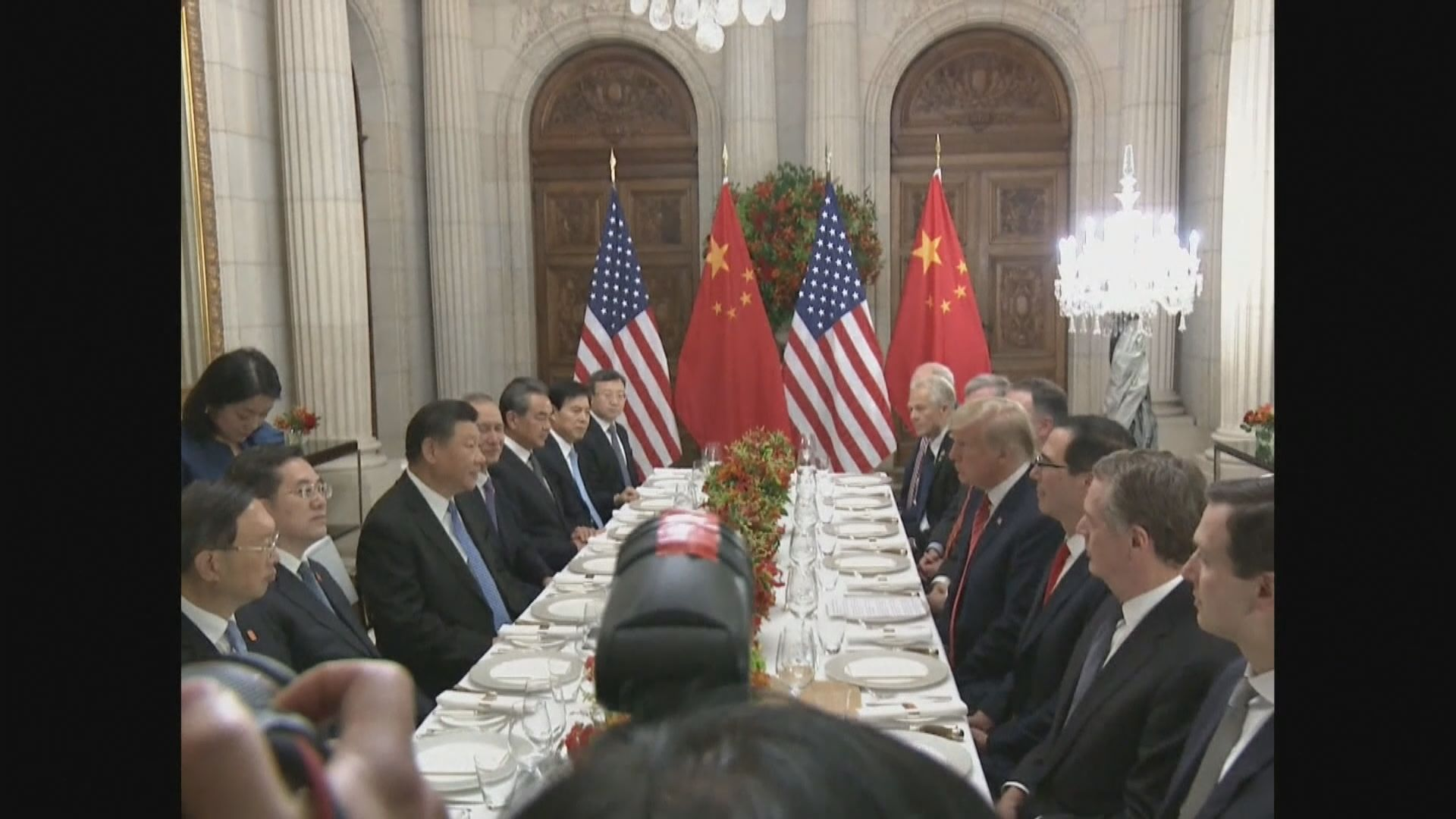消息指美貿易代表團下月初到北京會談