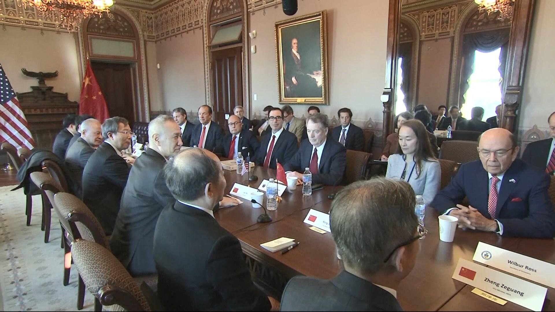 中美貿易代表團即將互訪磋商