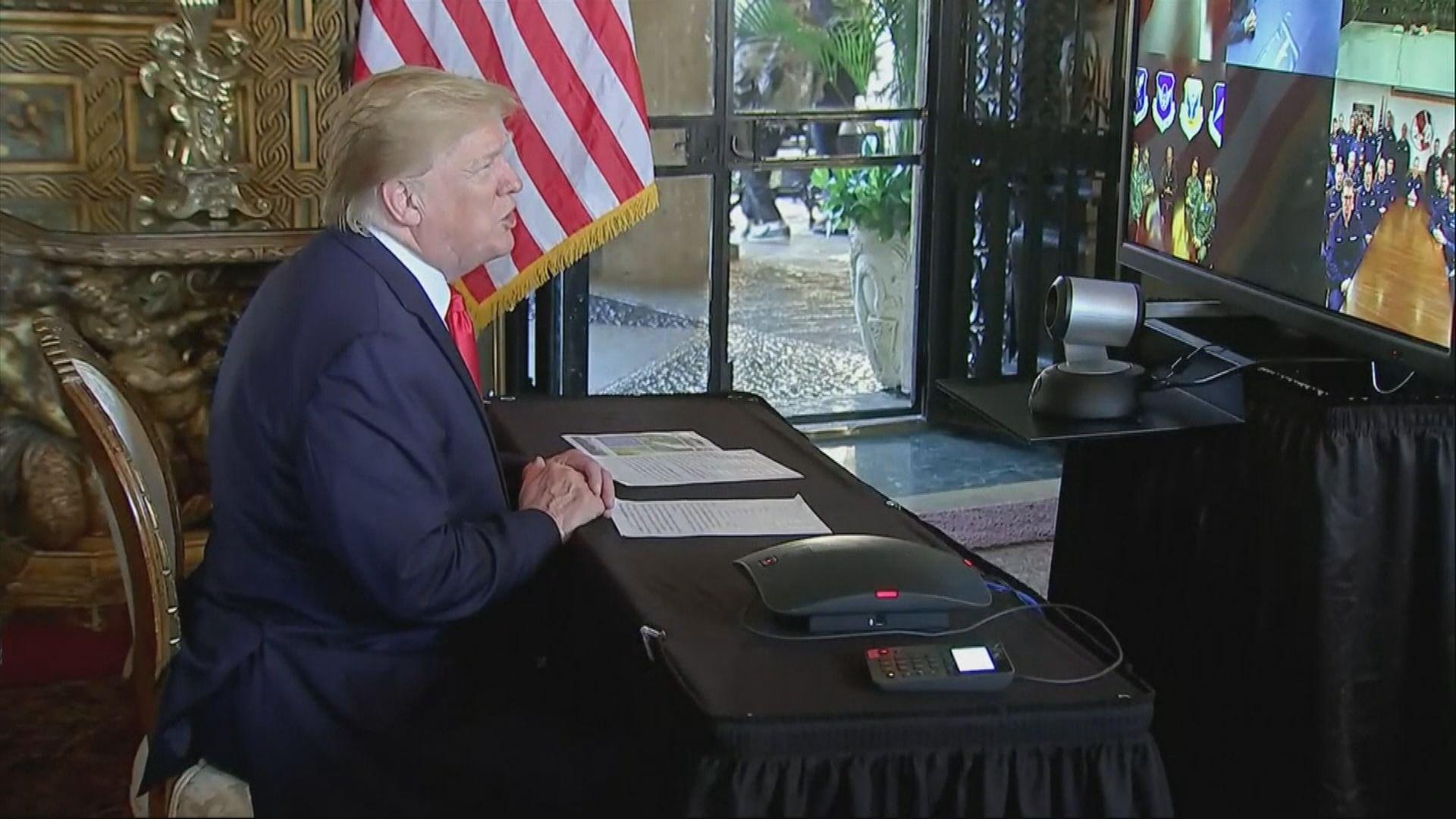 特朗普稱終將與習近平簽署貿易協議