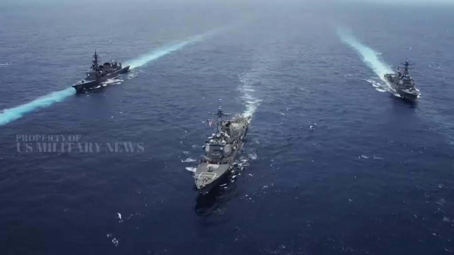 美國學者發表報告籲華府協防台灣
