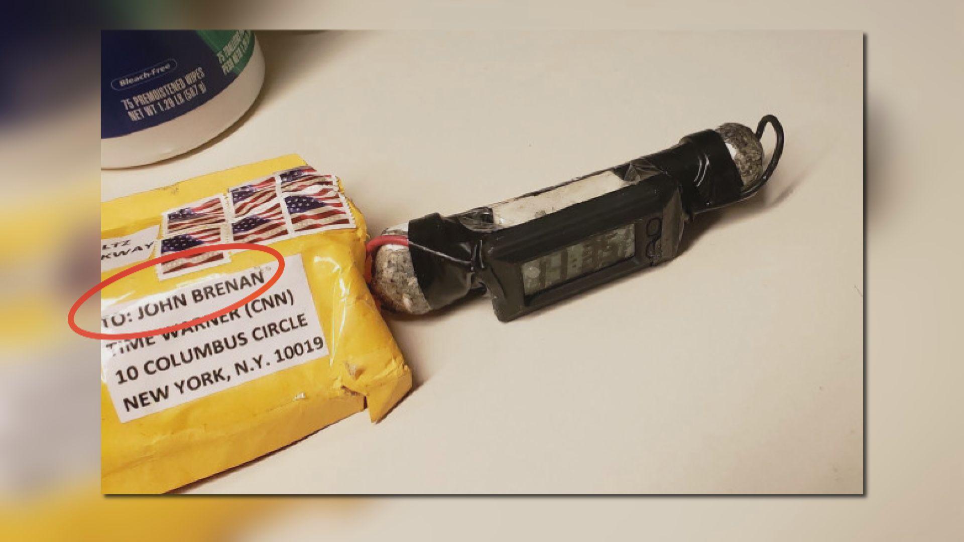 美國多名民主黨政要接懷疑郵包炸彈