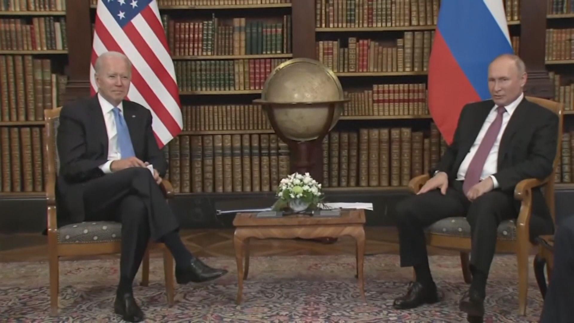 美俄峰會結束 拜登指將對網絡攻擊作回應