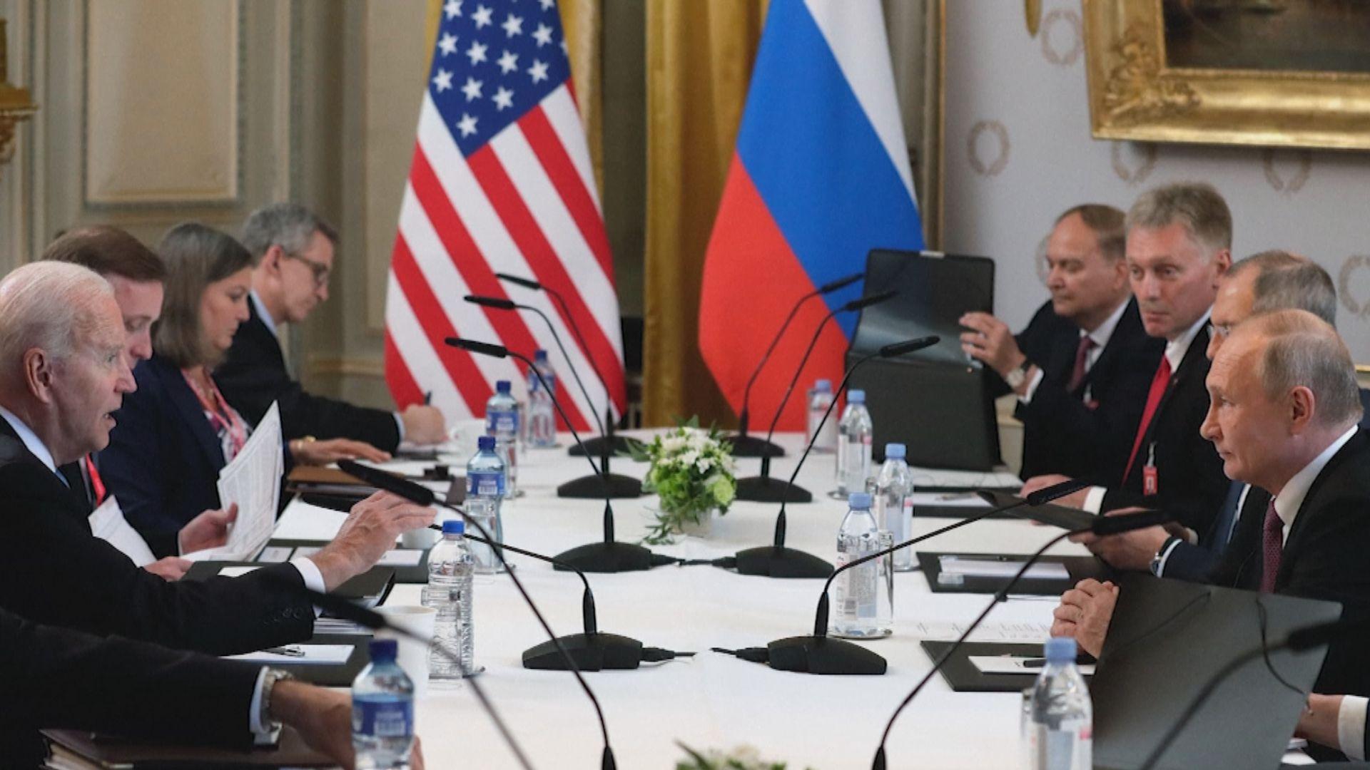 美俄首腦峰會結束 拜登:會談氣氛良好和正面