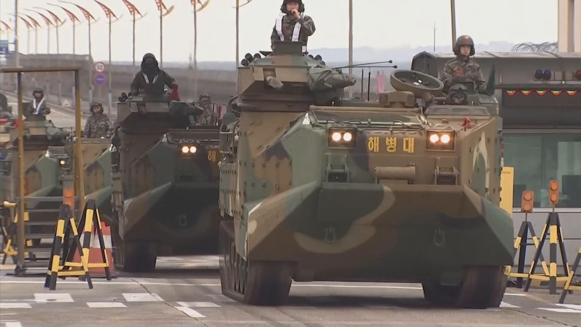 日媒:美韓或最快明年春天重啟聯合軍演