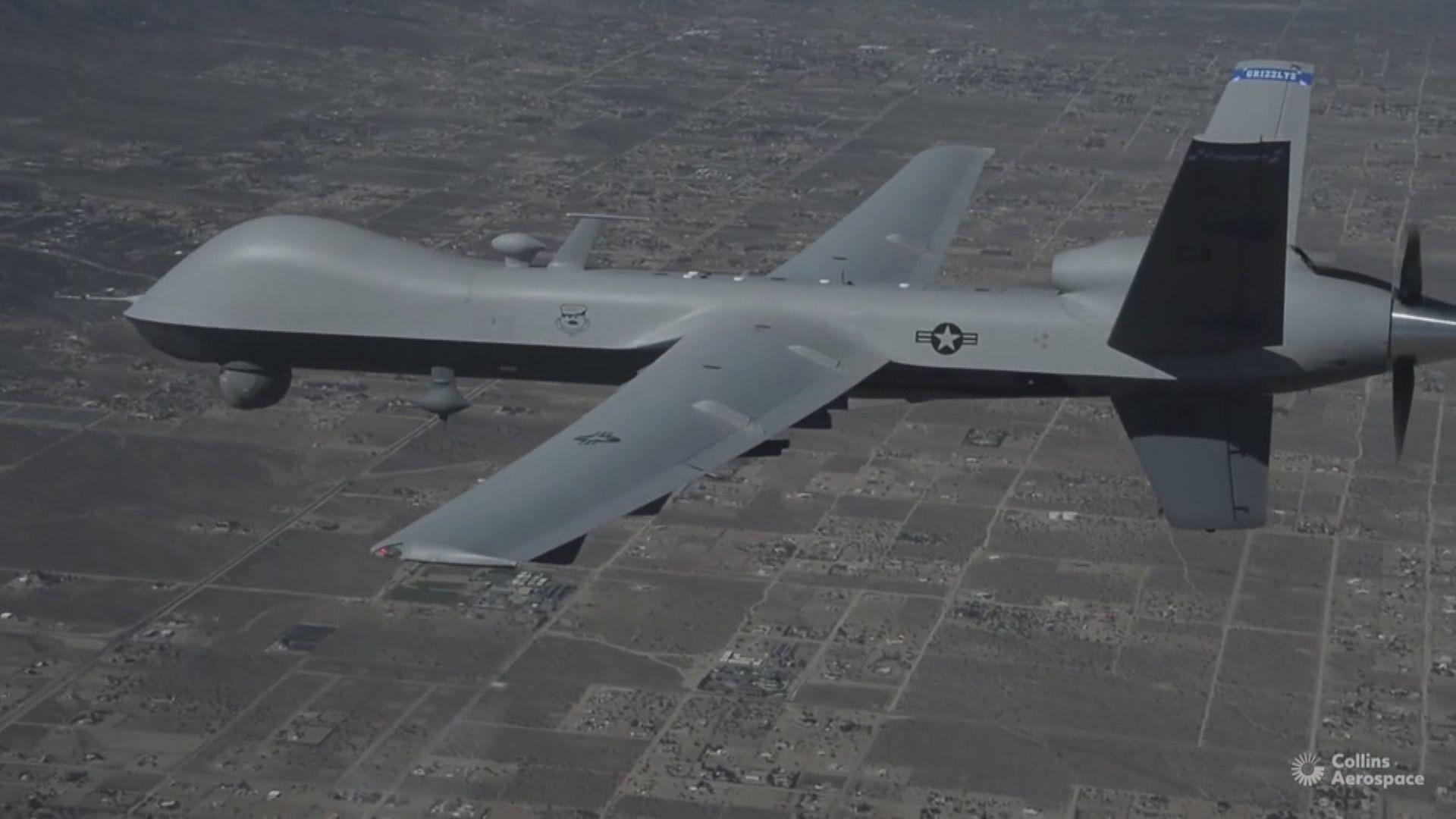 美國國務院正式通知國會對台出售無人機