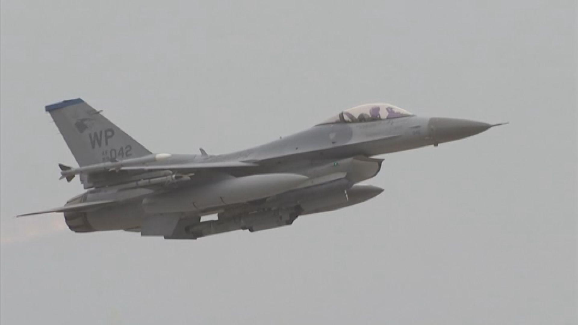 台灣向美國示意會盡快完成採購戰機程序