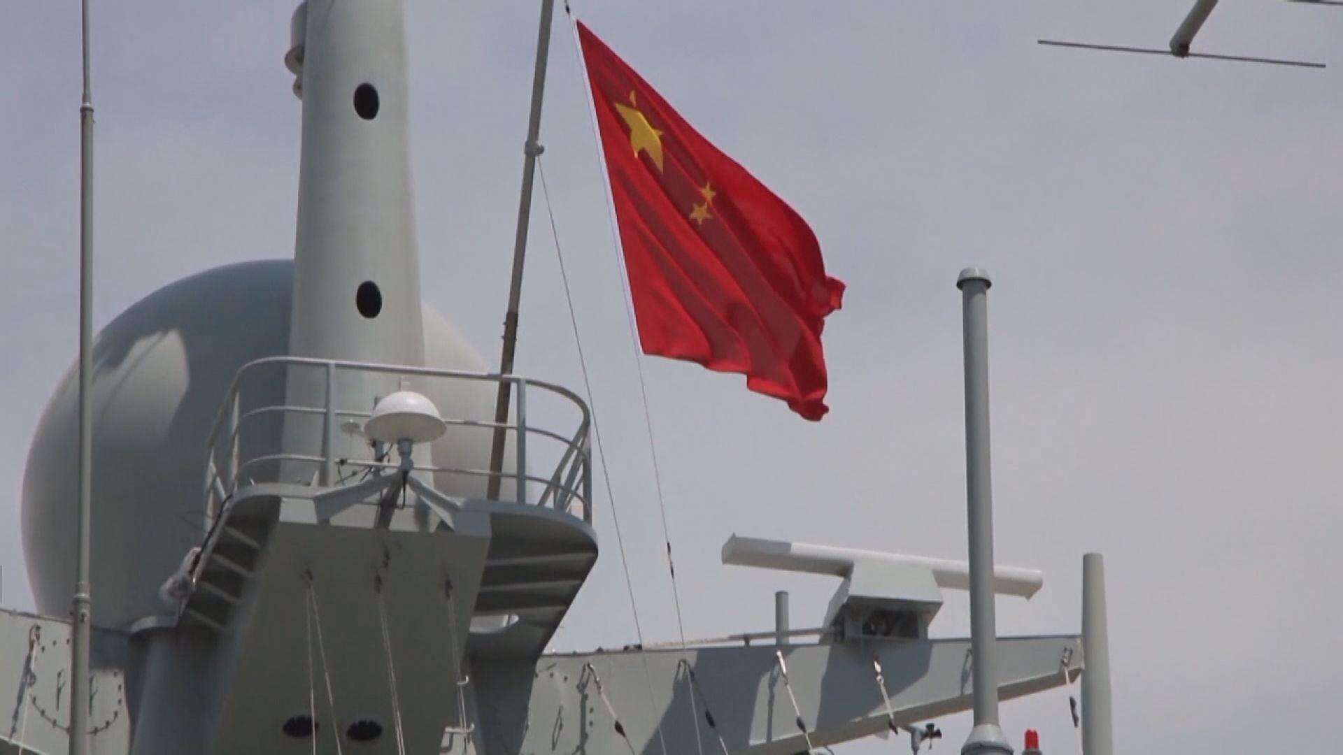 美軍導彈驅逐艦經過台海 解放軍海空兵力全程跟蹤監視