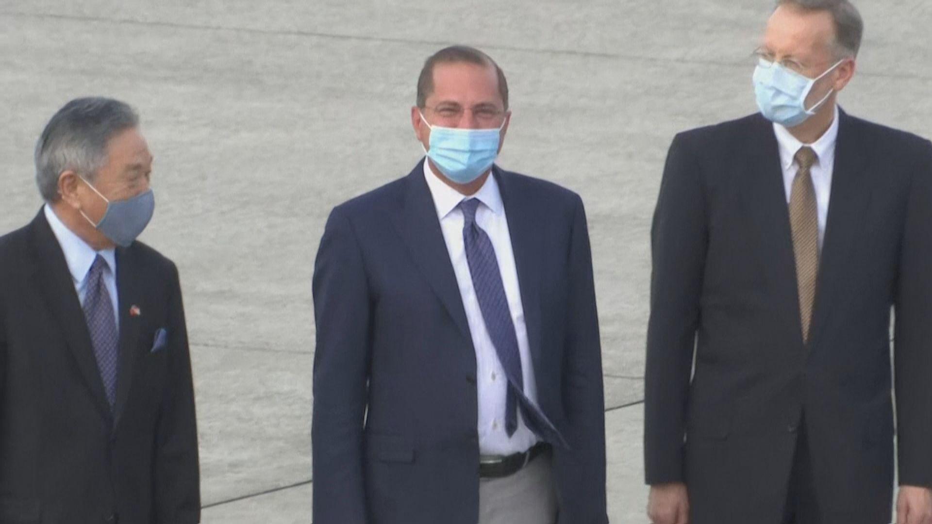 美衞生部長阿扎周三將弔唁前總統李登輝