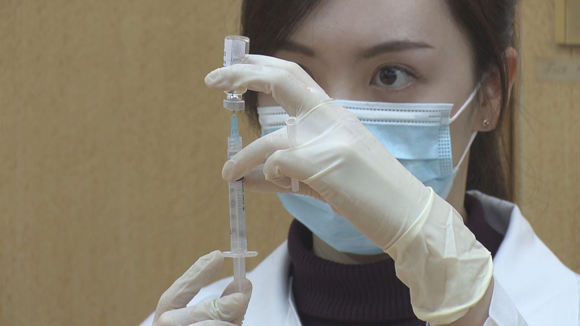 私家醫生診所負責接種科興疫苗 因較易儲存