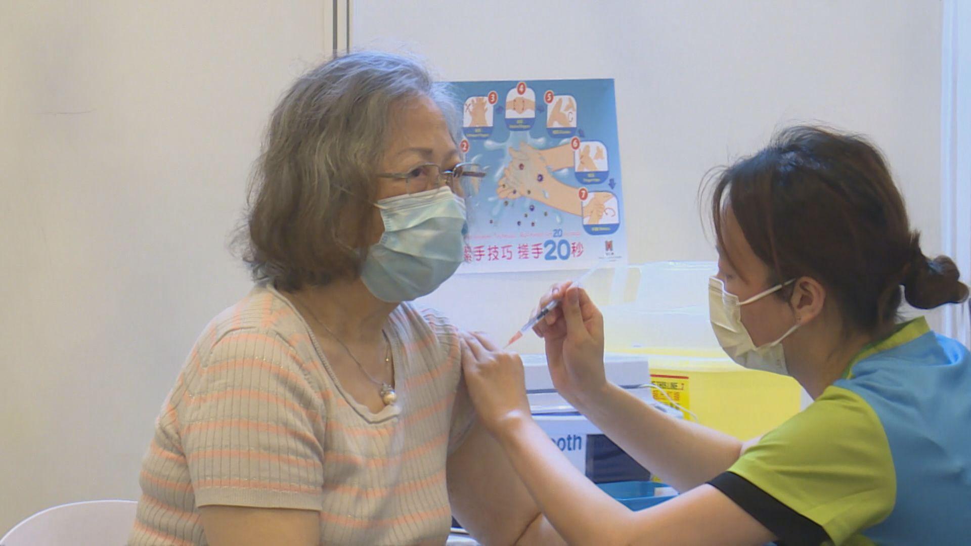 周四起70歲或以上長者可領即日籌接種新冠疫苗
