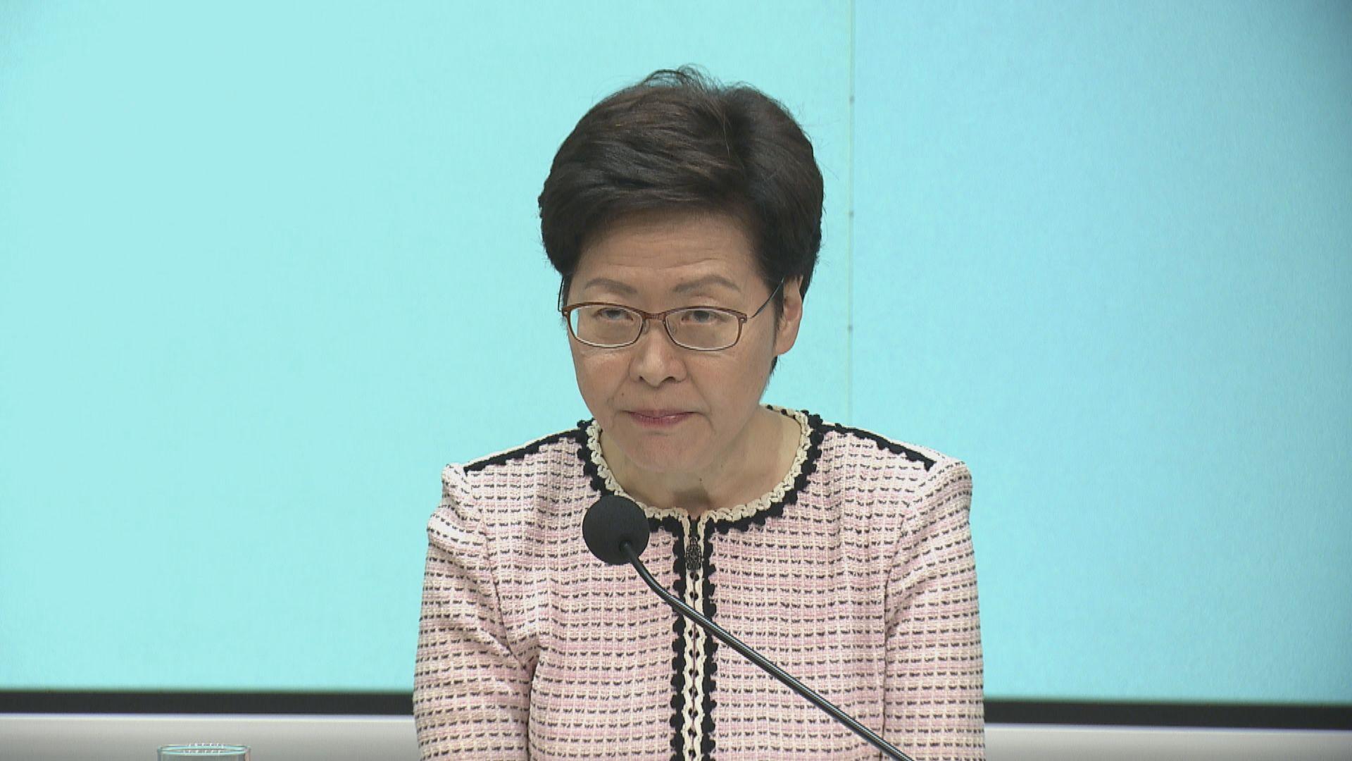 林鄭月娥:不排除不接種疫苗市民要面對較嚴格防疫限制