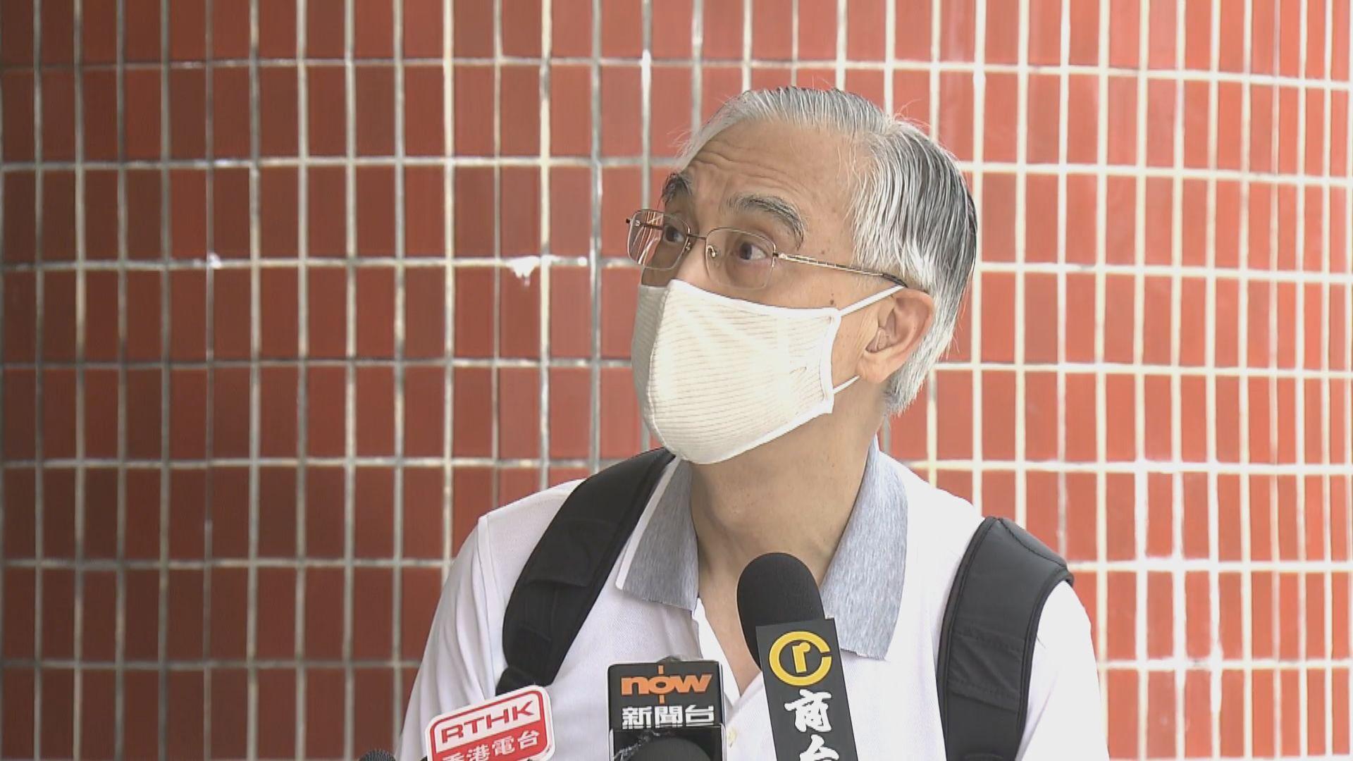 林大慶:政府應考慮容接種疫苗人士部分情況下不戴口罩
