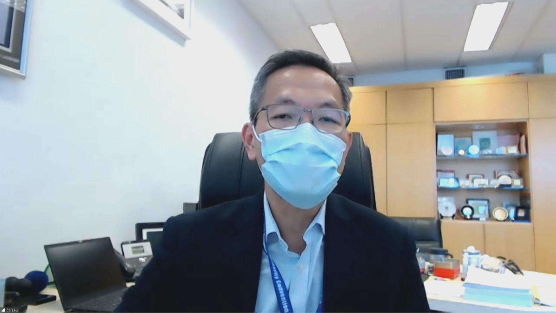 劉澤星:長者接種科興疫苗未見嚴重副作用