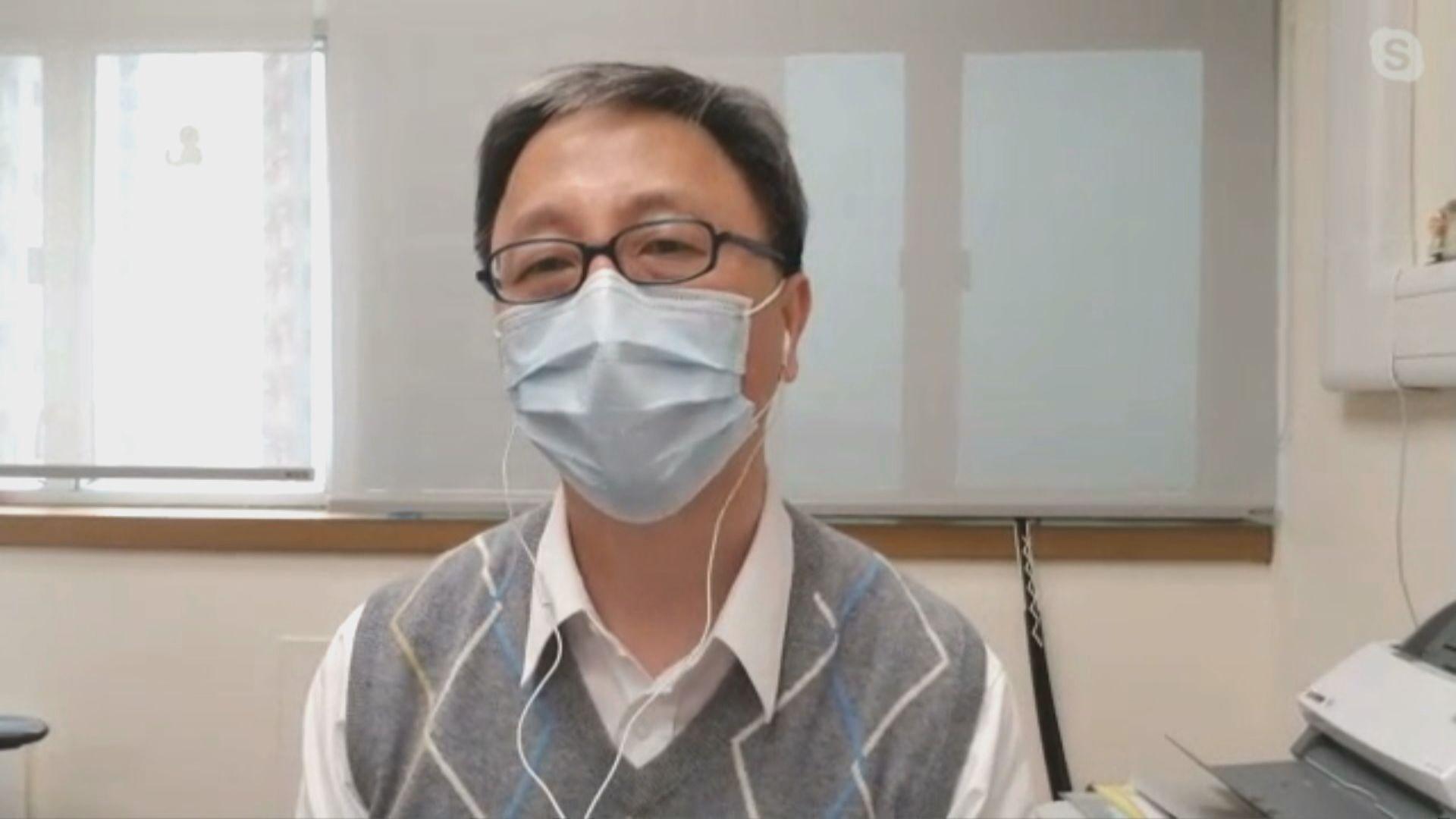 何栢良:接種第一針疫苗後若嚴重過敏 不宜接種第二針