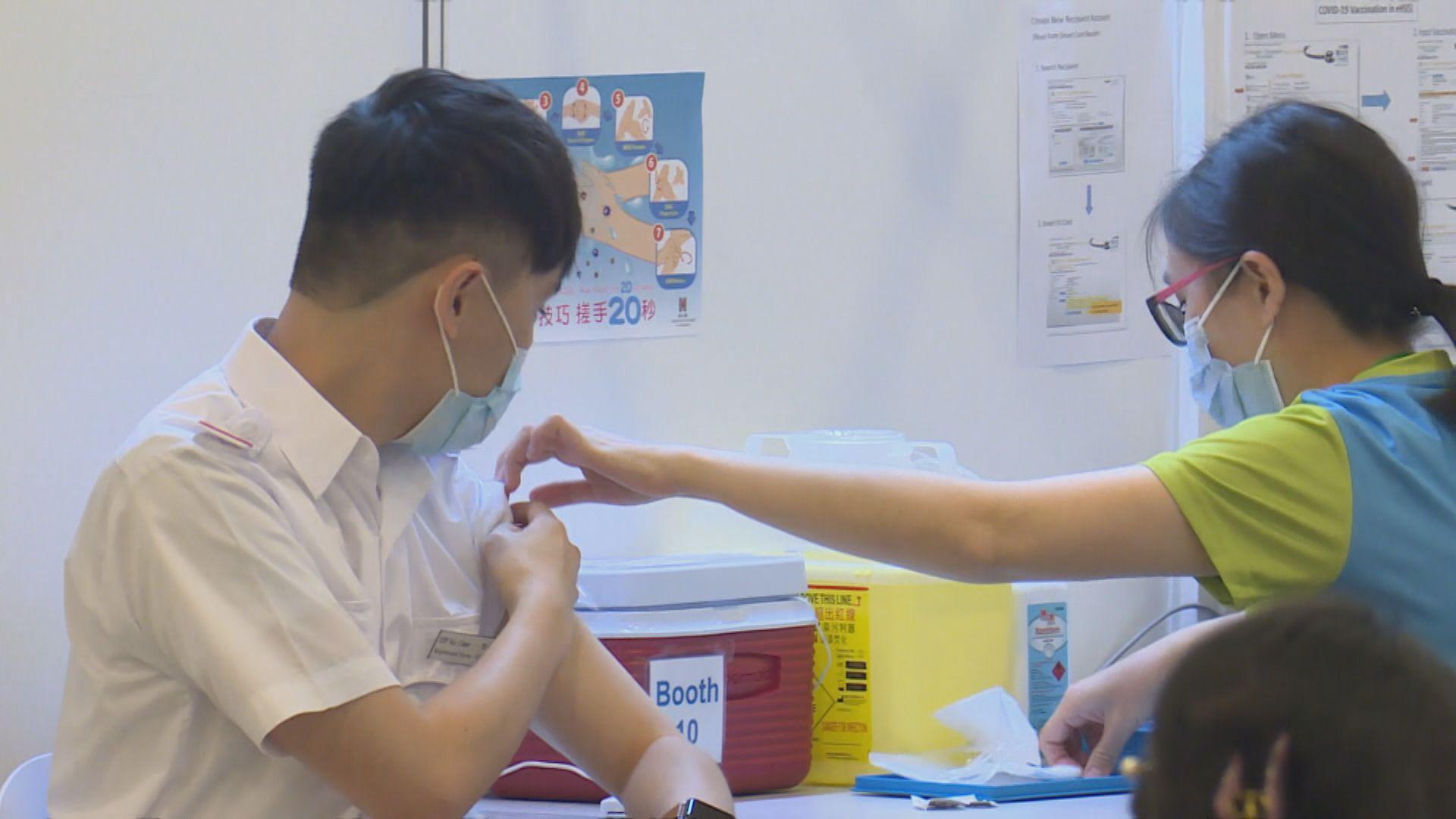 屬優先接種群組200人獲政府安排接種科興疫苗