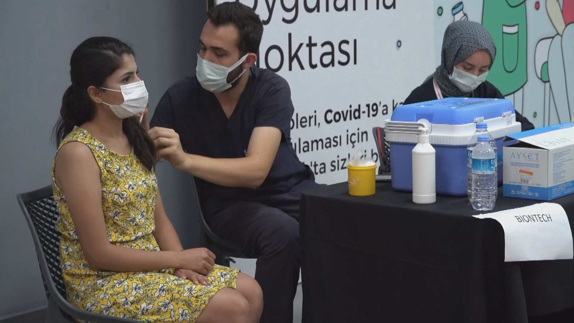 土耳其50歲或以上民眾可預約接種第三劑疫苗