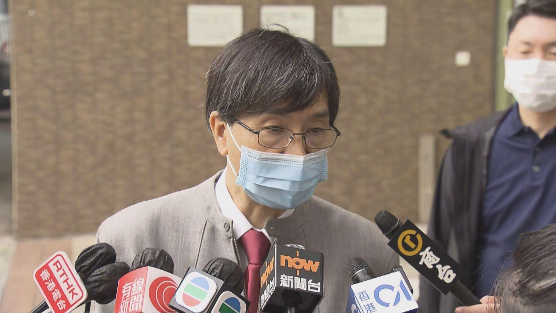 袁國勇接種復必泰新冠病毒疫苗 稱要示範疫苗重要性