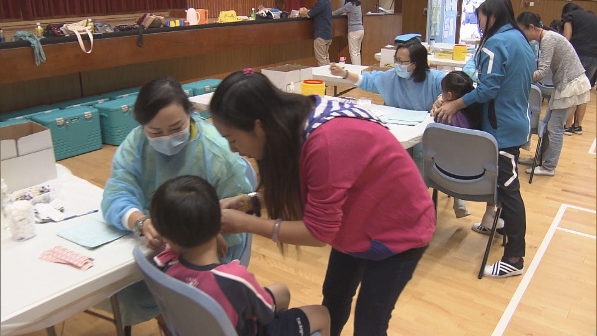 政府防疫注射計劃展開 有長者認為接種流感疫苗較安心