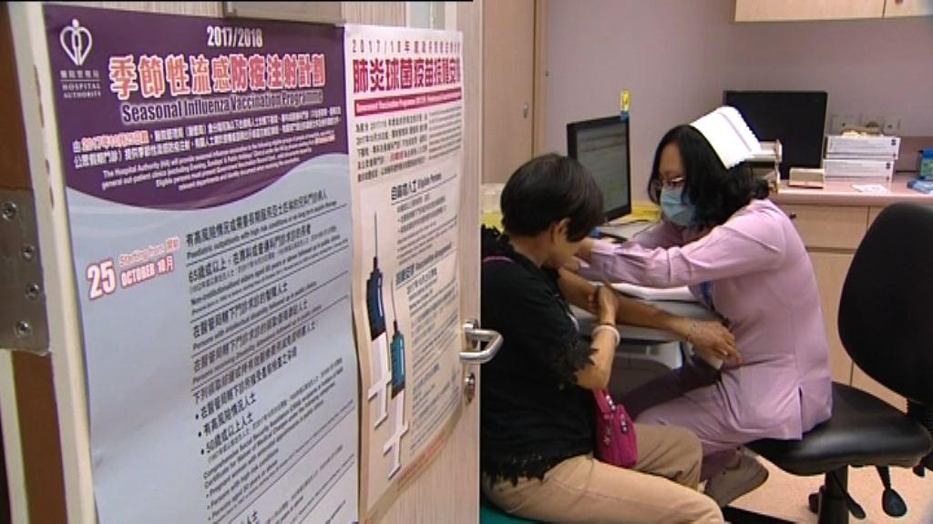 專家指50歲有長期病患感染流感易有併發症