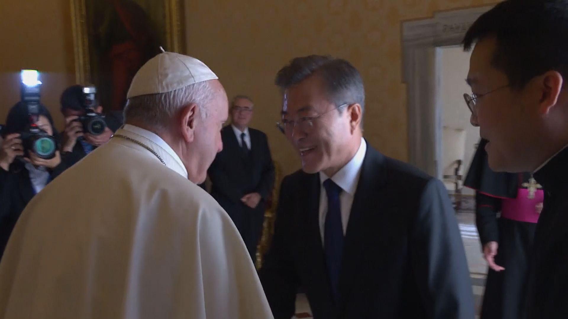 教宗:若情況許可將應邀訪問北韓